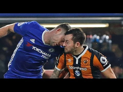 Ryan Mason fighting death after horrible clash with Cahill 22/1/2016