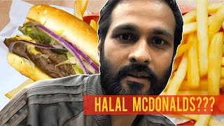 Halal McDonald's In London? - Slam Burger, London