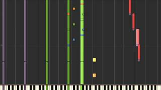 X Files Theme (Synthesia)