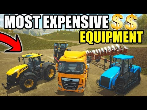 MILLIONAIRE FARMER | BUYING THE MOST EXPENSIVE EQUIPMENT | PURE FARMING 2018