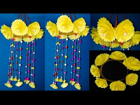 DIY Wind Chime With Beautiful Paper Hanging Paper Craft