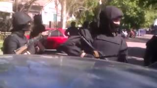 Мариуполь. Карательные отряды Украины против мирных жителей.