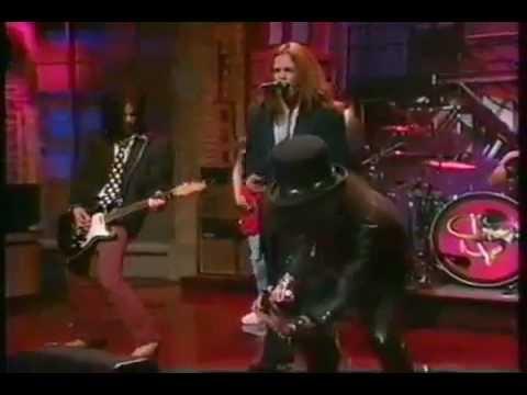 """Slash's Snakepit: """"Good To Be Alive"""" (live David Letterman Show 1995)"""