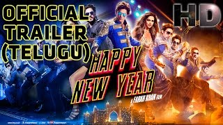 Happy New Year | Official Trailer (Telugu) | Shah Rukh Khan | Deepika Padukone
