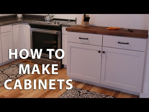How to Make DIY Kitchen Cabinets