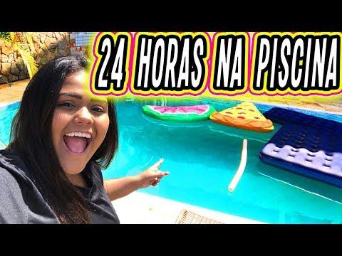 24 HORAS NA PISCINA !!!