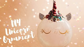 This tutorial shows you how to make your own unicorn ornament and c...