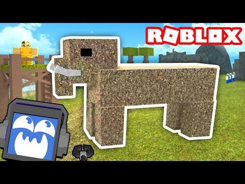 Booga Booga CAVEMAN SIMULATOR in ROBLOX! (Mammoths!) ► Fandroid the Musical Music Robot!