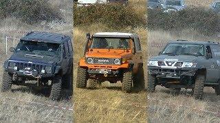 Jeep Cherokee vs Toyota Land Cruiser vs Nissan Patrol