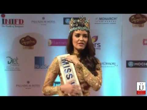 Miss World Meets Bollywood At The Red Carpet Of Femina Miss India