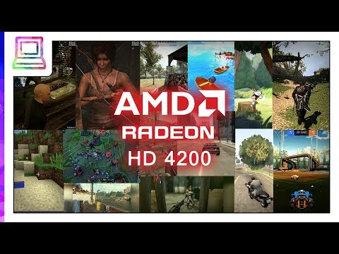10+ Modern Video Games Running On AMD Radeon HD 4200 (2019)