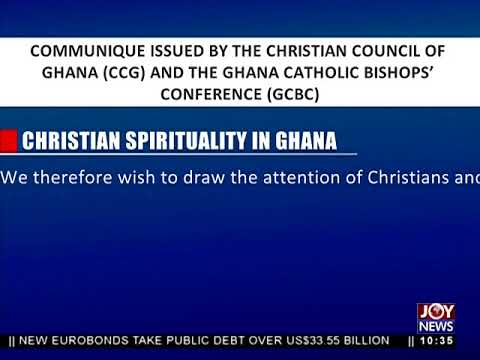 Christian Spirituality In Ghana - News Desk on Joy News (22-5-18)