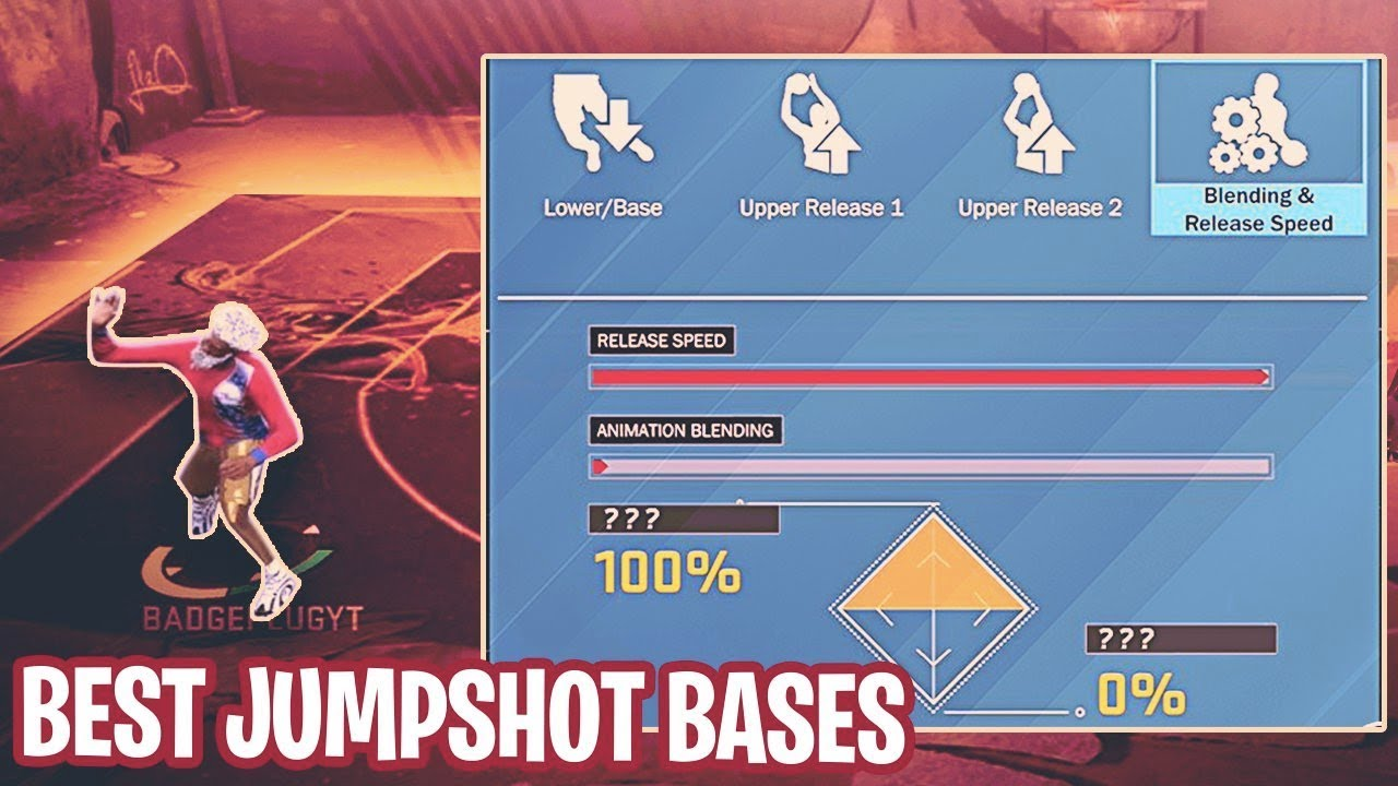 The Best JumpShot Bases In NBA 2K18