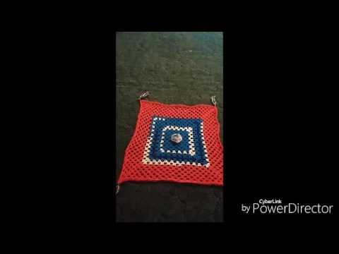 Afghan I finished today for my business
