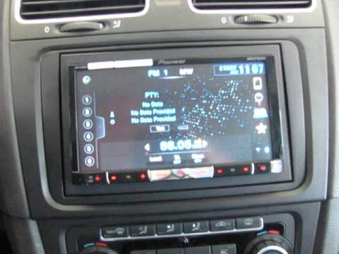 Pioneer Avh 8400bt Apexi Vafc2 Wiring Diagram Vw Golf Vi 2010 με Avh-8400bt - Youtube