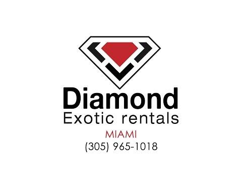 Exotic Car Rental MIAMI Luxury Car Rental - Diamond Exotic Rentals - Rent Exotic Car