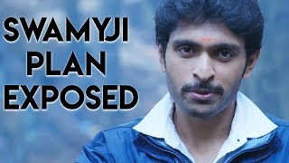 Tamil Short Scenes | Sigaram Thodu - Swamyji plan Exposed | Vikram Prabhu, Sathyaraj