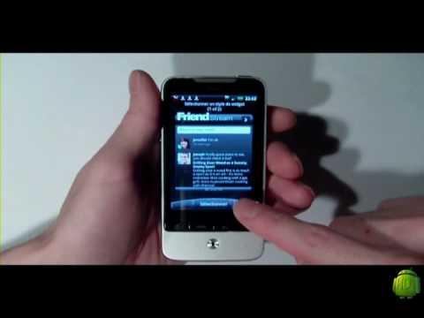 The New HTC Hero - HTC Legend  - Android 2.1 -  limited version SFR