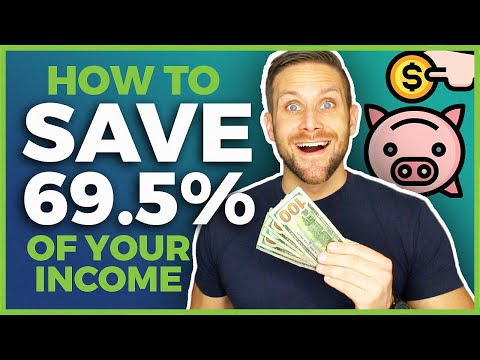 How I Save More Than 69.5% Of My Income - Financial Independence FIRE Movement