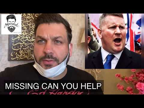 TOMMY ROBINSON Missing during Covid 19 | Say no you hate | Together we are stronger | Bearded Broz