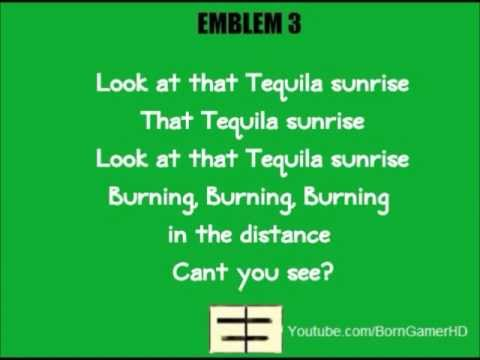 Emblem3 - Tequila Sunrise Lyrics | Musixmatch
