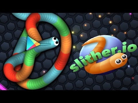 Slither.io - SKIN BOLADA do GOOGLE PLAY!!