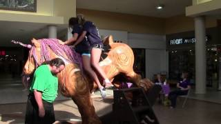 Rocking Horse Charity Tour Visits The Conestoga Mall In Grand Island, Ne.