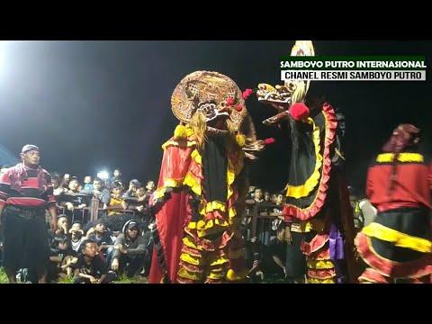 SAMBOYO PUTRO - Lagu Jaranan PENYESALAN ABADI Voc Wulan Live Manyaran KEDIRI