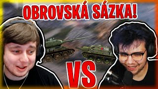 OBROVSKÁ SÁZKA S @MarweX VE WORLD OF TANKS!!! | Morry&@MarweX