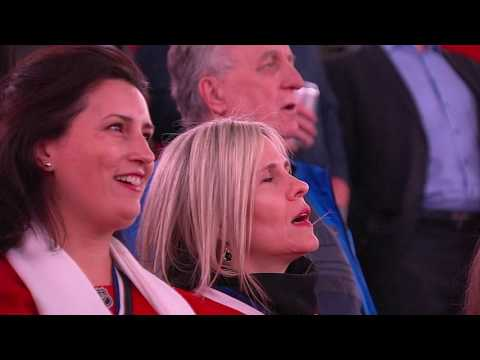 Fans, stars combine for new rendition of 'O Canada'