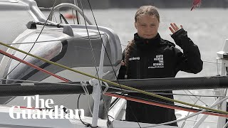 Greta Thunberg arrives in New York after 15-day journey across the Atlantic - watch live