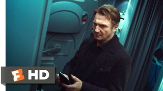 Non-Stop (2014) - Set Your Watch Scene (1/10) | Movieclips