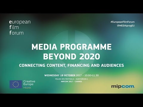 European Film Forum in MIPCOM 2017
