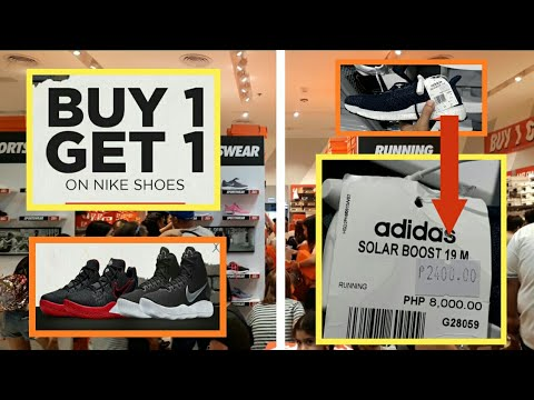 mini cerca Solicitud  Nike outlet Buy 1 Get 1   Adidas sale up to 70% OFF - YouTube