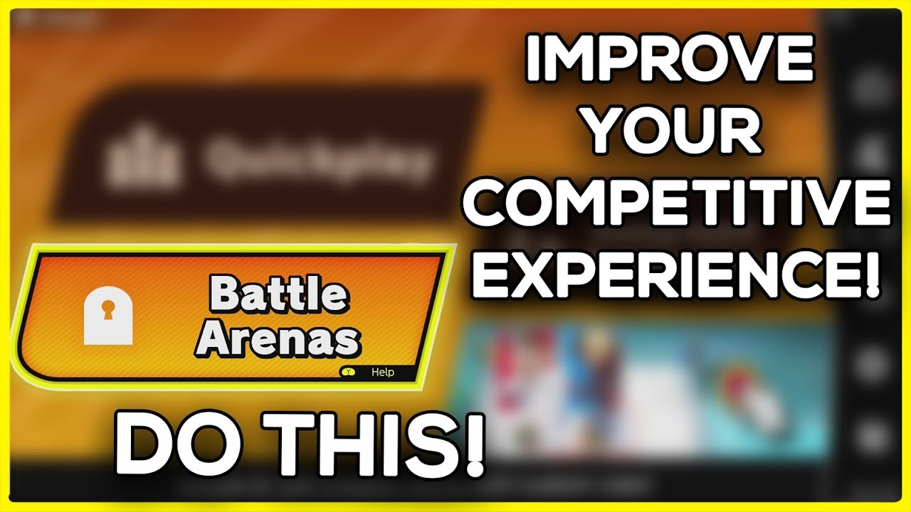 BEST WAYS to Improve your Online Competitive Experience with Smash Ultimate!