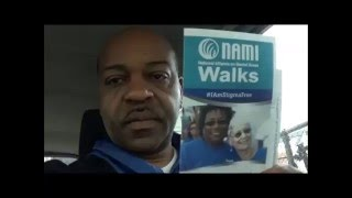 NAMI Walk May 2016 fundraiser for Mental Illness Awareness
