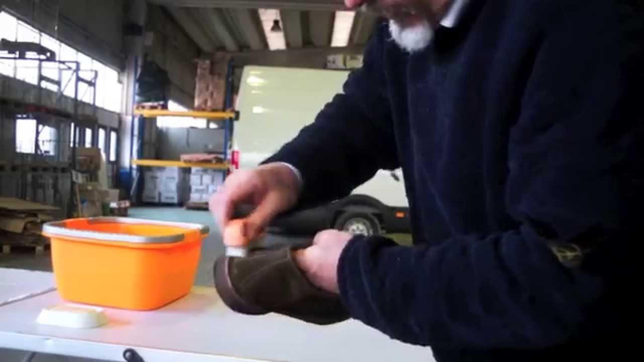 come lavare scarpe nike air