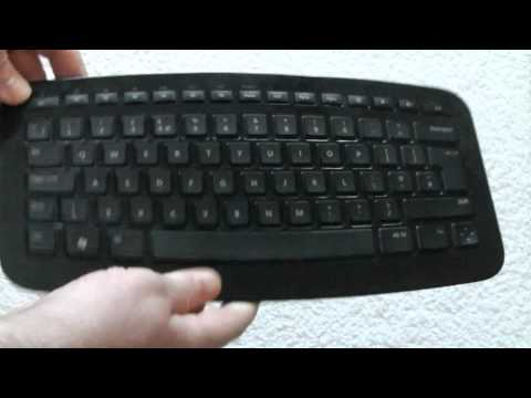 Microsoft Arc Keyboard (a quick look)