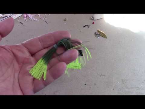 How To Make A Skirt For A Spinner Or Buzz Bait