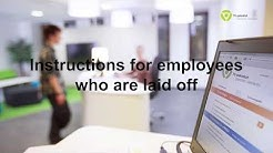 Instructions for employees who are laid off