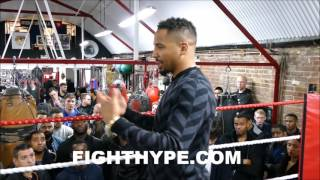 ANDRE WARD SAYS HATERS MAY BE ONLY MOTIVATION...
