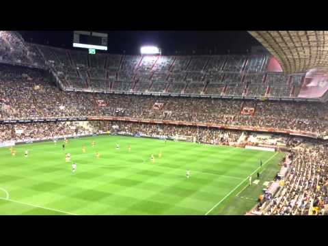 Valencia Fans Singing Since I Was Young