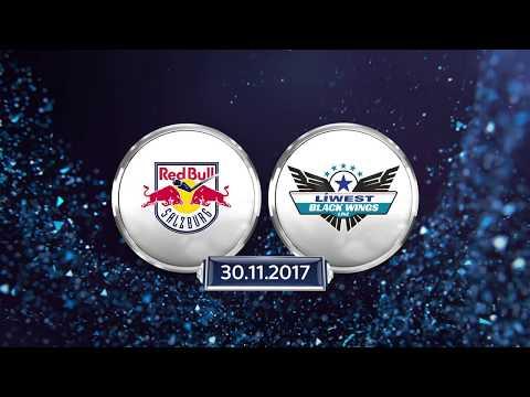 Erste Bank Eishockey Liga 2017/18, 24. Runde: EC Red Bull Salzburg – EHC Liwest Black Wings Linz 4:5