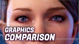 Detroit: Become Human - PC vs PS4 Pro - 4K Graphics Comparison