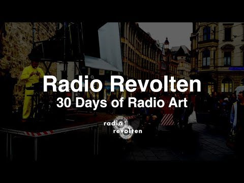Radio Revolten to publish 30 Days Of Radio Art - The Wire