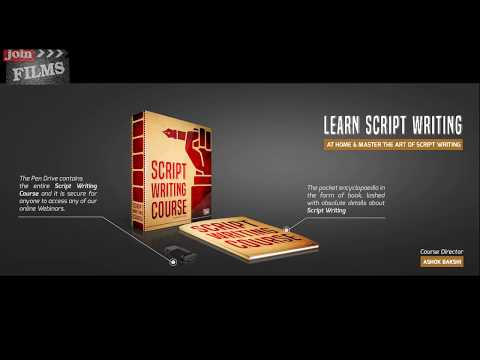 Hindi Script Writing Course For Beginners  Unboxing Video