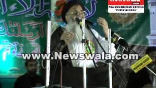 Abdur Rauf Roofi in Jalsa E Milad un Nabi SAWS at Bada Bazar, Yakhootpura, Hyderabad (Part 1)