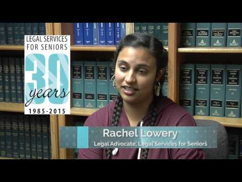 Legal Services for Seniors - Legal Outreach Video