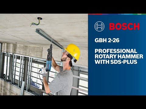Bosch GBH 2-26 Professional Rotary Hammerl with SDS-plus