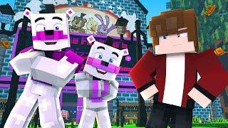 Minecraft FNAF 6 Pizzeria Simulator - FUNTIME FREDDY'S PIZZERIA! (Minecraft Roleplay)